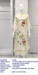 Gown Style Cotton Kurti