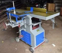 5 HP Blue Multipurpose Woodworking Planer, Automation Grade: Semi-Automatic