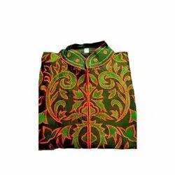 Sahej Party Wear Ladies Phulkari Semi Stitched Kurti