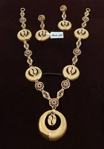 Gnj 22 Ct Turkish Gold Necklaceset 21