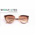 Wolf Eyes Ladies Aviator Sunglasses