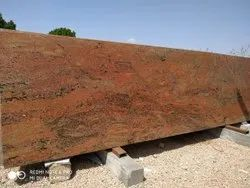 Polished Red Boss Granite, Thickness: 15-20 mm