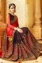 Designer Georgette Saree With Blouse