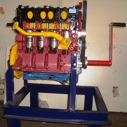 Diesel Engine - Cut Section Of Multi Cylinder Diesel Engine