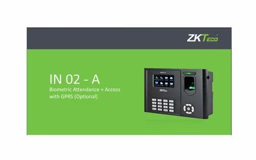 Zkteco In 02 Biometric Attendance Access Control