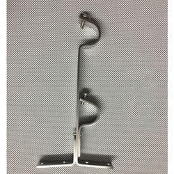 Stainless Steel Double Curtain Support