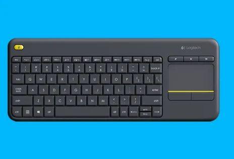 Logitech Wireless Touch Keyboard K400 Plus & Logitech