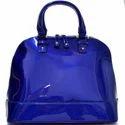 Blue And Blue Handbag