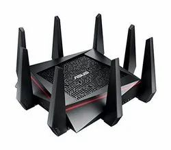 Black Asus RT-AC5300 Tri-Band Wireless Router