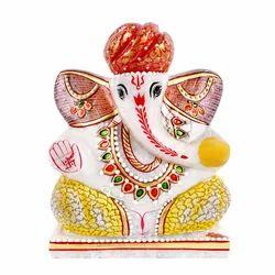 Marble Ganesha Murti