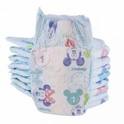 Microfiber Disposable Huggies Baby Diapers, Size: Small, Age Group: Newly Born