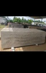 White Polished Millennium Cream Granite for Flooring, Thickness: 15-20 mm