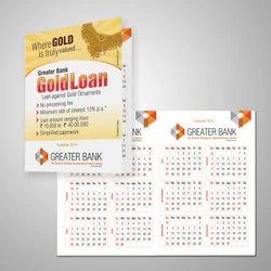 Pocket Calendar Printing
