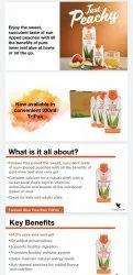 Forever Aloe Peaches Tripak / Drinks