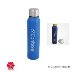 Stainless Steel Vacuum Flask-SF-22-JR-021-280ml-Blue