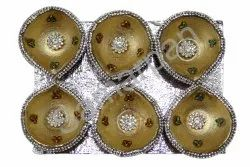 Golden Stone Diya 7092004891374