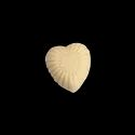 White Milky Hearts Candy
