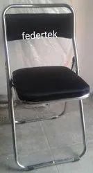 Foldable SS Armless Folding Chair, For Home, Restaurant etc