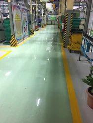 Recoating of Flooring