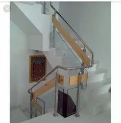 Polished Stairs Steel Railings, For Home
