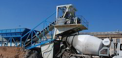 Mobile Ready Mix Concrete Plant