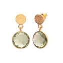 925 Sterling Silver Smoky Topaz Best Model Gemstone Fashionable Small Earring