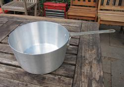 Aluminum Silver Aluminium Sauce Pan, For Kitchen