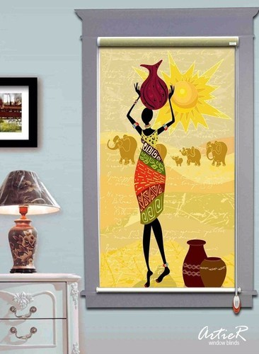 Customized Roller Blinds Printed Manufacturer From New Delhi