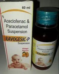 Aceclofenac 100MG   Paracetamol 125