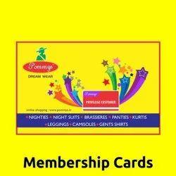 Membership Cards Printing Service