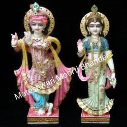 3 Feet Radha Krishna Statue