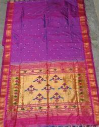 Pathani Silk Saree