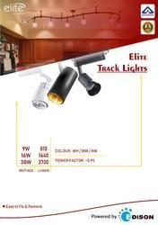 Track light in ahmedabad gujarat manufacturers suppliers of elite black led track light 9w mozeypictures Gallery
