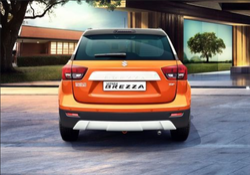 Maruti Suzuki Orange Maruti Vitara Brezza Car