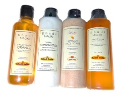 khadi herbal apricot face scrub, Pack Size: 210ml