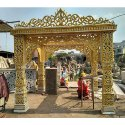 Decorative Fiber Wedding Gate and mandap