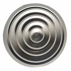 Round Ceiling Air Diffuser, Shape: Circular/Round
