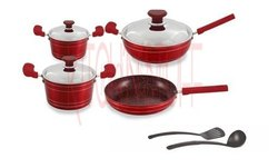 Cookware Set - 9 Pcs - Mira Bella