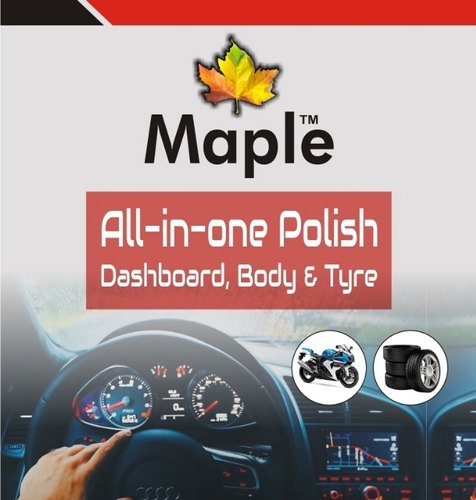 Maple All In One Car And Bike Polish