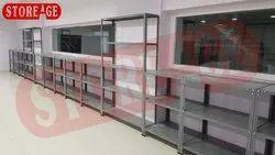 Mild Steel Rectangular Work Tables, For Industrial