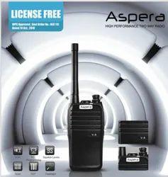 License Free Aspera V9 LF PMR 446 Walkie Talkie
