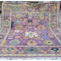 Handmade Turkish Modern 100% Wool Oushak Rug