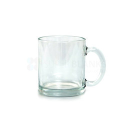 11Oz Glass Mug Sublimation Printable Blanks Clear Hard Best Handle Control Serve Drinks