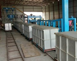 AAC Light Weight Brick Making Plant