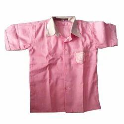 Cotton Pink School Shirt