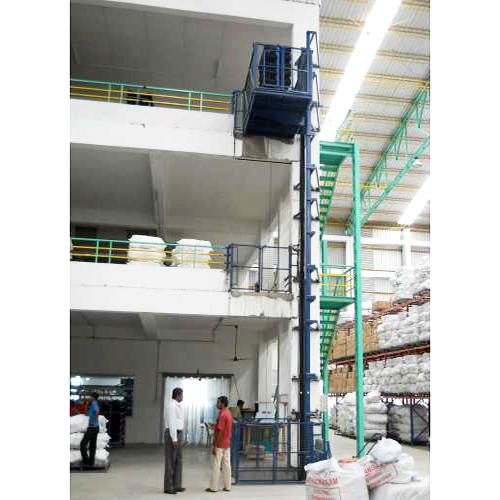 Single Mast Hydraulic Goods Lift Nd Gl Hsm Series