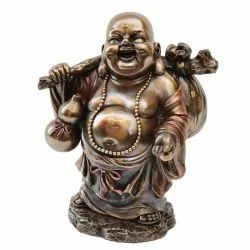 Happy Laughing Buddha Statue Feng Shui Buddha idol For Wealth & Happiness Laughing Buddha Sculpture