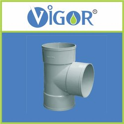 PVC Tee and Pipe