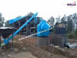 Inline Drum Mix Concrete Plant