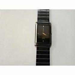 Crony Fancy Black Tone Chain Wrist Watch